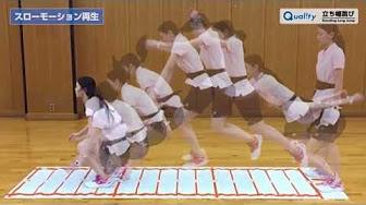 【Quality】<br>立ち幅跳び 測定方法